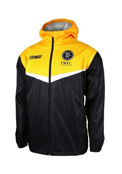 FIGHTER HOODY JACKET W SHIELD (BEE BLACK)