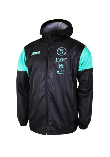 CLASS HOODY JACKET W SHIELD (MINT BLACK)