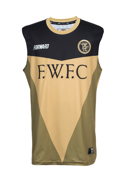 VETERAN SLEEVELESS TR (GOLD)