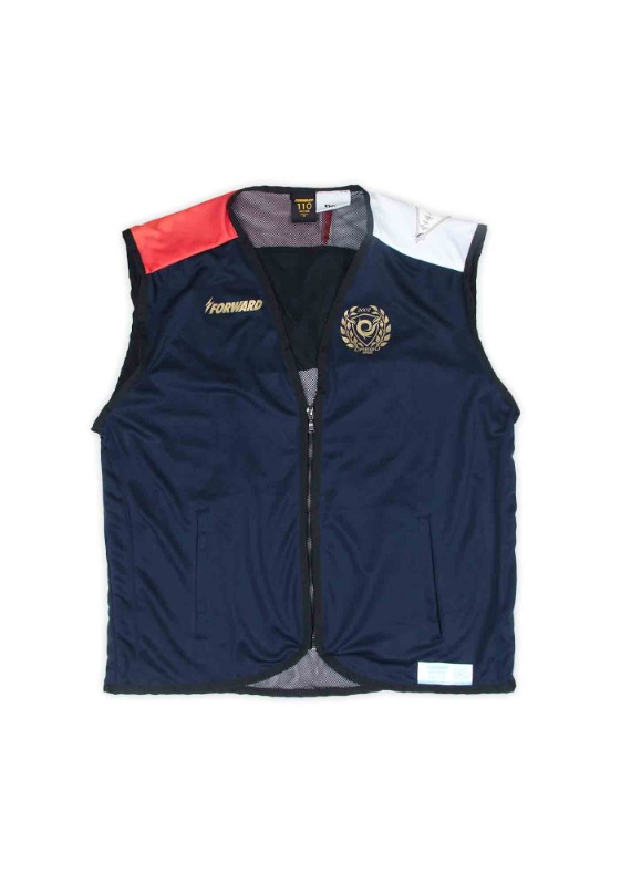 FORWARD X NSS SPORTS REMADE UTILITY VEST  (NAVY/RED/WHITE)
