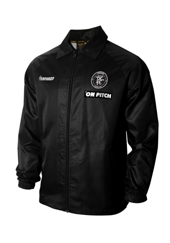 LIGHTENING COACH JACKET (BLACK)